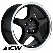 "17"" 17x9.5"" inch Corvette C4 ZR1 OE Replica Gloss Black Wheels Rims fit C4 88-96"