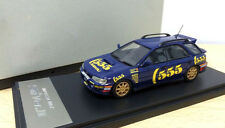 Subaru Impreza WRX Sti Version 2 II 555 Resin Hand Made 1/43 Dealer Limited