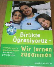 """neues  Schulbuch deutsch- Türkisch """" Miteinander lernen""""  mit Musik-CD"""
