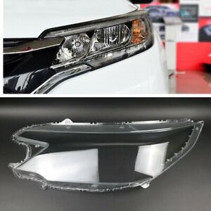 Left Headlight Headlamp Clear Lens Auto Shell Cover For Honda CRV 2015-2016