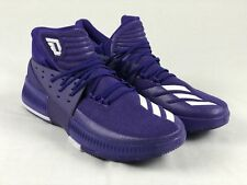 4fc9c2c66be0 NEW adidas Dame 3 - Purple Basketball Shoes (Men s ...