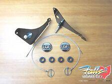 2010 - 2018 Dodge Challenger Chrome Hood Lock Hood Pin Kit Mopar OEM