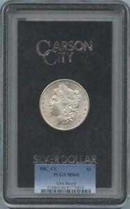 1883-CC Morgan Dollar $1 GSA Hoard PCGS MS66