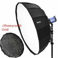 "41"" 105cm Softbox Beauty Dish Bowens Mount with Honeycomb Grid For Studio Flash"