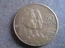 DINARA JUGOSLAVIA... 50... 1955... R 35