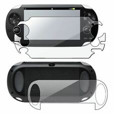 New PS Vita 1000 LCD Clear Screen Protector Front and Back Cover Protector