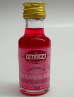 28ml x 12 Bottle Preema Culinary Strawberry Essence Food Flavour Flavouring CASE