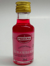 28ml Flasche preema kulinarische Erdbeere Essenz Food Flavour Aroma Küche