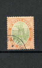 More details for st kitts-nevis 1909 1s christopher columbus fu cds