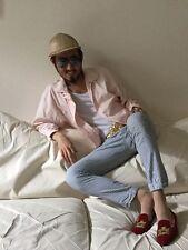 Yamaha pastel pink cotton jacket windbreaker fits like S