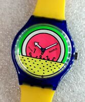 🔴 Swatch BREAKDANCE GO001 KEITH HARING - AUTOMATIC CONVERSION