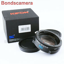 Kipon Baveyes Auto Focus 0.7x Reducer Adapter Canon EOS Lens to Sony NEX E A6000
