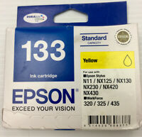 Epson 133 Genuine Yellow Ink Cartridge Pack