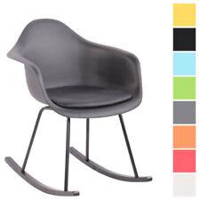 Chaises fauteuil à bascule en plastique pour la maison