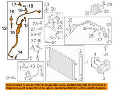 A//C Refrigerant Discharge Hose-Discharge Line UAC fits 17-18 Audi Q7 3.0L-V6