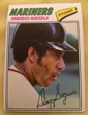 1977 Topps Diego Segui Baseball Card #653 Seattle Mariners Pitcher