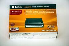 D-link DSL-2500U ADSL 2+ Ethernet Router