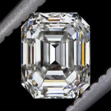 1 CARAT GIA CERTIFIED I VVS2 EMERALD IDEAL CUT DIAMOND ENGAGEMENT NATURAL LOOSE