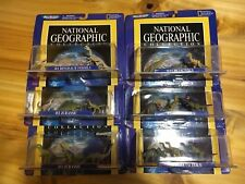 HUGE RARE LOT MICRO MACHINE DINOSAUR COMPLET COLLECTION NATIONAL GEOGRAPHIC  MOC