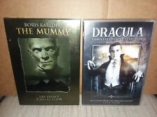 Universal Picture's The Mummy and Dracula Legacy Collections on DVD