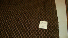 Taupe Gold Circle Print Chenille Upholstery Fabric 1 Yard R238