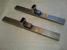 "20"" Target shooting stands WELDED STEEL / Sign holders PAIR / HEAVY DUTY"