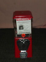 A & A CO PROFESSIONAL VENDING  RED GUMBALL & CANDY MACHINE