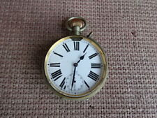GOLIATH 8 DAY POCKET WATCH WITH CASE LIGHT M M CO