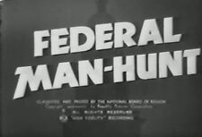 FEDERAL MAN-HUNT (1938) DVD ROBERT LIVINGSTON, JUNE TRAVIS
