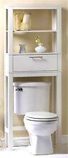 VOGUE BATHROOM SPACE SAVER ** Over the Toilet Cabinet & Shelf ** NIB