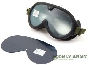 US Army M44 Sun Wind & Dust Goggles Reproduction Military Eye Protection Glasses