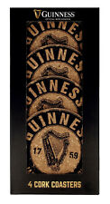 Guinness Drinks Coasters - Natural Cork
