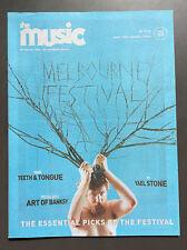 THE MUSIC MAGAZINE Melbourne Fest Issue #159 OCT 2016 L7 / Katchafire/ Ufomammut