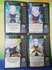 Dragon Ball Z DBZ CCG Tcg Panini Custom Proxy Foil Supreme Kai Level 1-4 MP Set