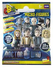 Doctor Who Personaje Edificio Serie 2 Micro figuras 6x precintado AZAR Bolsas