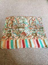 Multicoloured Silk Scarf