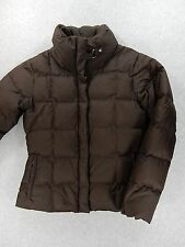 Eddie Bauer Premium Goose Down 700 Fill Power Winter Coat (Womens Small) Brown