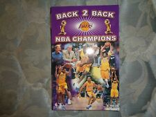 2001-02 LOS ANGELES LAKERS MEDIA GUIDE Yearbook 2000 2001 2002 NBA CHAMPIONS! AD