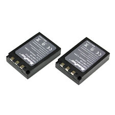 TWO BATTERIES for SANYO DB-L10 OLYMPUS LI-10B LI-12B BATTERY X 2