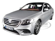 2018 MERCEDES S CLASS AMG LINE SILVER METALLIC 1/18 DIECAST CAR BY NOREV 183479