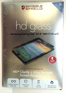 "ZAGG HD Glass Screen Protector for Samsung Galaxy Tab S2 8"" SM-T710 Wifi"