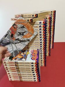 Naruto - Manga band 1-72 ( 2 missing band) - Carlsen comics