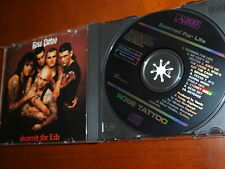 Rose Tattoo - Scarred For Life Japan for AU 1st BLACK FACE cd Buster Brown RARE