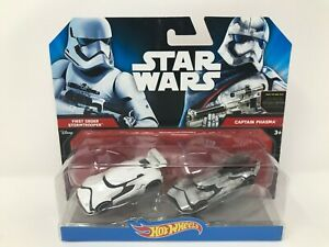 Hot Wheels Star Wars Car 2-Pack - First Order Stormtrooper and Captain Phasma