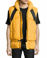 Moncler Yellow Giverny Gilet Virgil Abloh Off-White Men Down Life Vest NEW