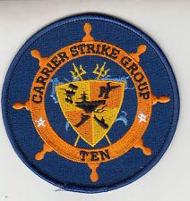 CARRIER STRIKE GROUP TEN STANDARD CHEST PATCH
