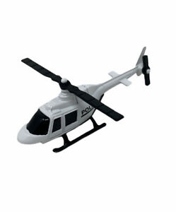 POLICE DEPARTMENT HELICOPTER, DIE CAST METAL TOY Maisto