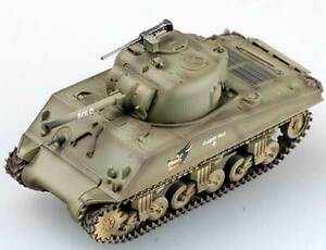 Easymodel M4A3 Middle Tank US Army Classy Peg Finshed Model Tank 1:72 Trumpeter