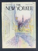 COVER ONLY ~ The New Yorker Magazine, December 6,  1976 ~ Arthur Getz