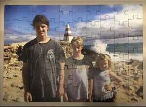Personalised Jigsaw Puzzles - Use your own picture - Made in Australia